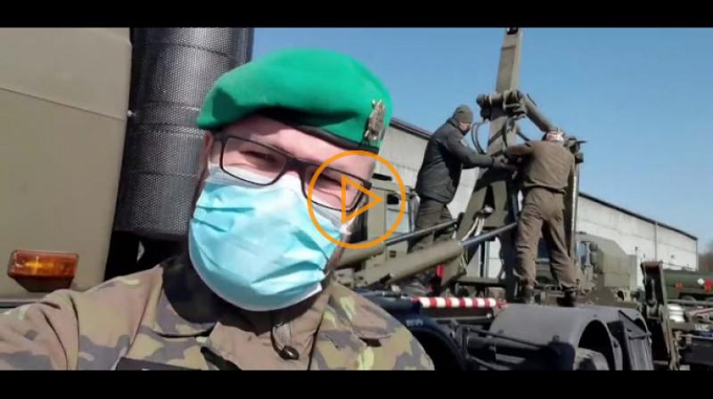 Armáda ČR: V Pardubicích se chystáme na další tuny ochranných prostředků