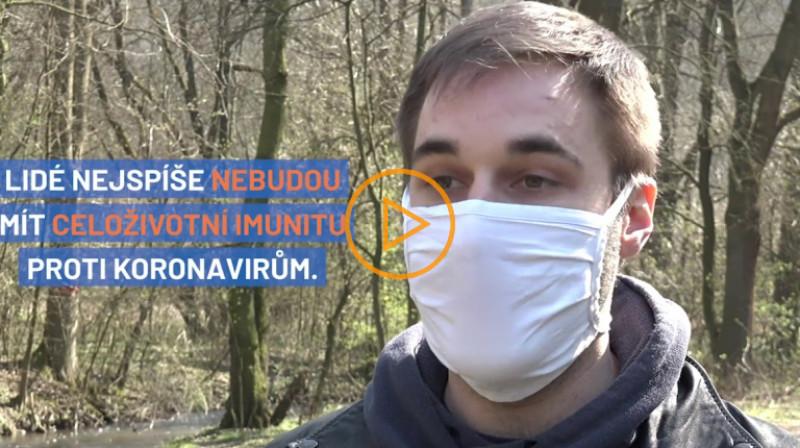 Aktuálně: Mezi lidmi kolují další 4 typy koronavirů, říká imunolog Zdeněk Zadražil