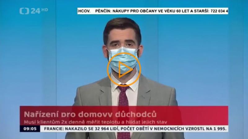 ČT24: Zprávy 9:00