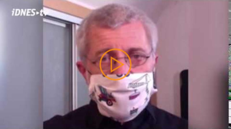 iDnes: Vrchol pandemie přijde za měsíc, časem se nakazí 70 procent lidí, říká infektolog
