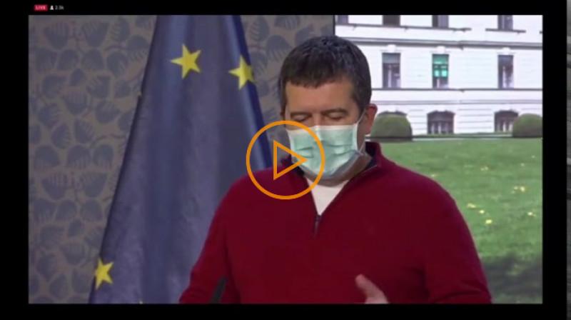 DVTV: Tisková konference po jednaní vlády