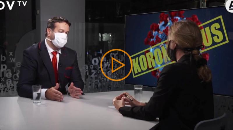 DVTV: Nakažených může být až čtyřicet procent lidí, to nejhorší nás čeká v dubnu