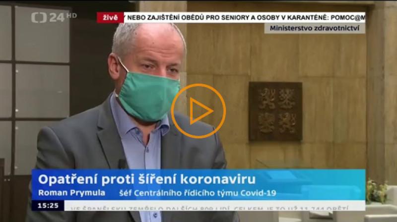 ČŤ24: Opatření proti síření koronaviru