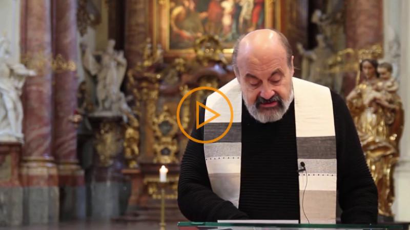 """Tomáš Halík: Zelený čtvrtek """"Kde je obětavá láska, tam se děje Bůh"""""""