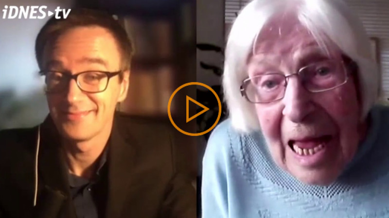 iDnes: Přežili jsme válku, přečkáme i koronavirus, myslí si 101letá seniorka