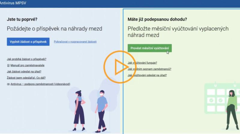 MPSV: ANTIVIRUS - Návod pro zaměstnavatele - ČÁST 2.