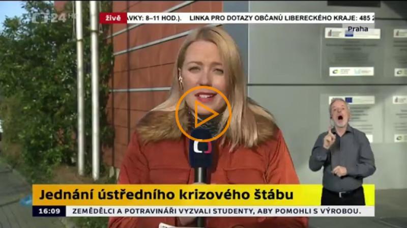 ČT24: Zprávy v 16:00
