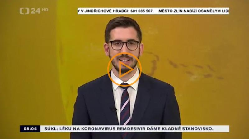 ČT24: Zprávy 8:00