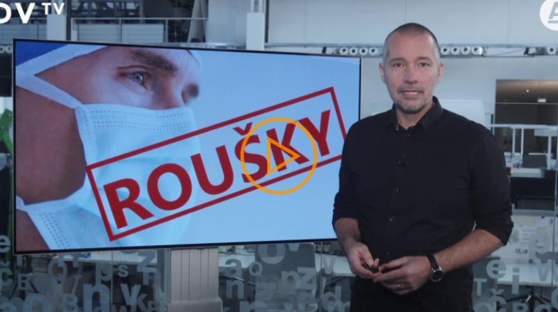 DVTV: Veselovský radí, čím se od zítřka zakrýt