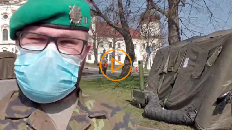 Armáda ČR: Hlásíme se z Olomouce