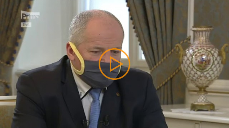 TV Prima: Partie s Adamem Vojtěchem a Romanem Prymulou