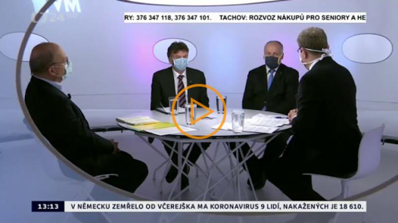 ČT24: Otázky Václava Moravce 2